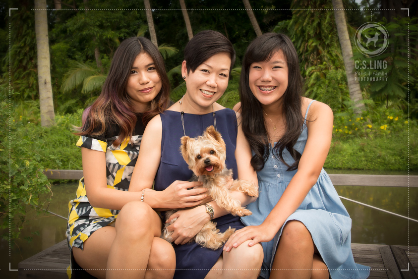 Pet Photography Singapore Mother Daughters
