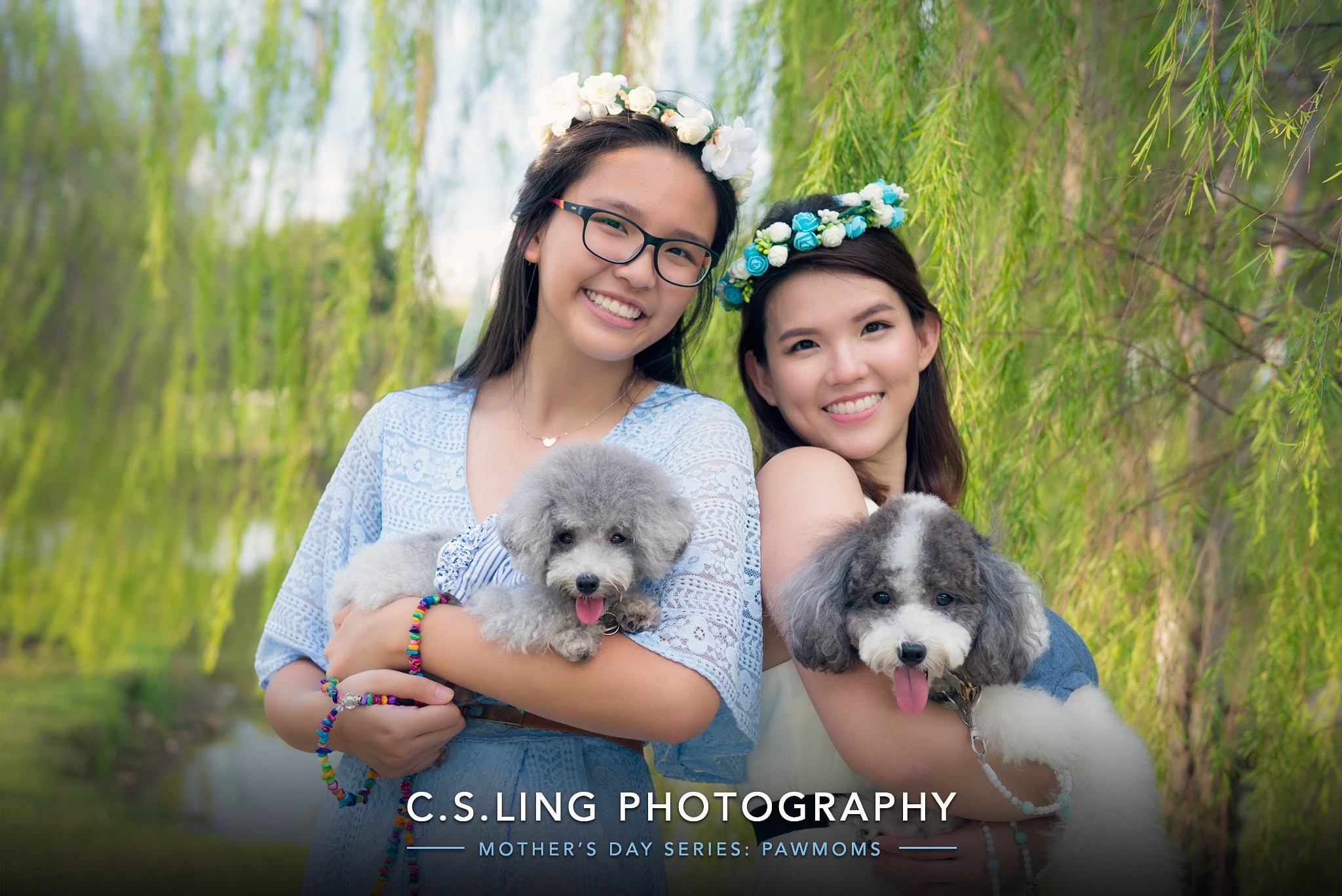 Mother's Day Pets & Family Photographer